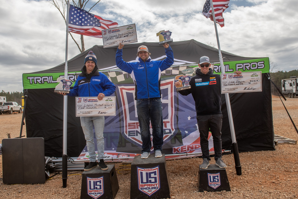 Stew Baylor Wins US Sprint Enduro Rnd2 on home soil