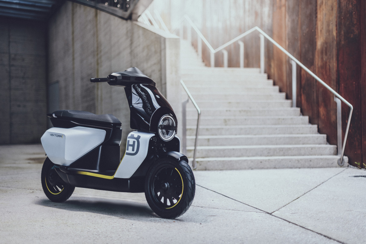Husqvarna Vektorr Concept electric scooter