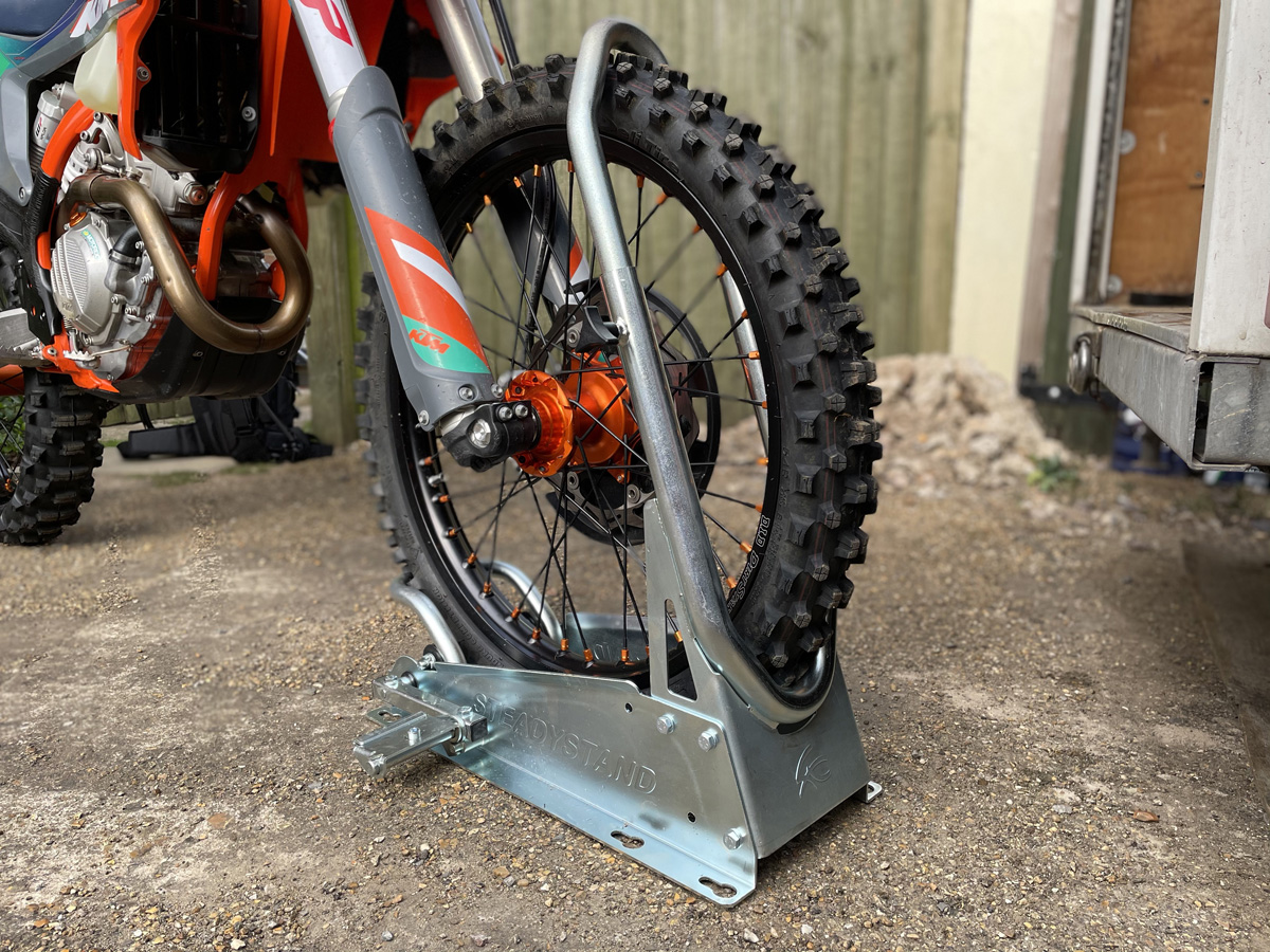 First look: SteadyStand bike stand